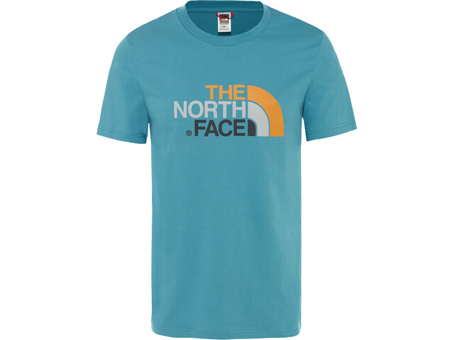 The North Face Easy Camiseta Manga Corta Hombre, storm blue